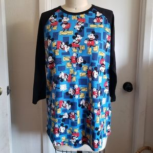 Disney Mickey Mouse Baseball T by Lularoe